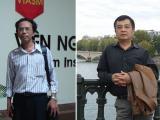 GS.TSKH Nguyễn Hữu Việt Hưng (bên phải) và PGS.TS Nguyễn Sum